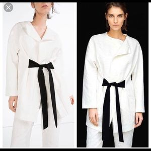 Zara Jacquard blazer